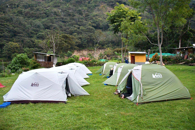 REI Glamping Tent Peru