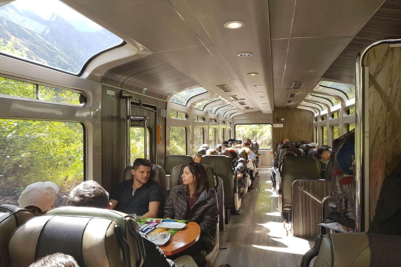 Vista-dome Train